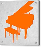 Orange Piano Acrylic Print