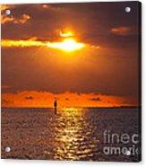 Orange Sky Acrylic Print