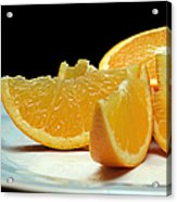 Orange Slices Acrylic Print