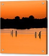 Orange Sunset Florida Acrylic Print
