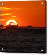 Orange Sunset IIi Acrylic Print