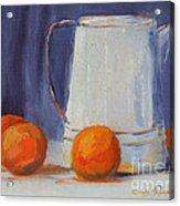 Oranges Still Life Acrylic Print