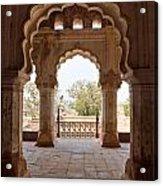 Orchha's Palace India Acrylic Print