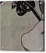 Orchid Scroll 2 Acrylic Print