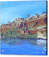 Ord River Afteroon Cruise Acrylic Print