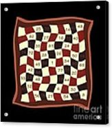 Order Nine Magic Square Puzzle Acrylic Print