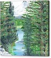 Oregon Reverie Acrylic Print