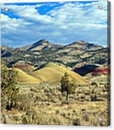 Oregons Painted Hills Acrylic Print
