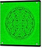 Oreo In Green Acrylic Print