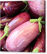 Organic Eggplant Acrylic Print