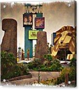 Original Mgm Grand Lion 1994 - Impressions Acrylic Print