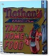 Original Nathan's Acrylic Print