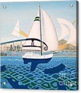 Coronado Sailin' - Memoryscape Acrylic Print