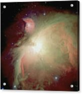 Orion Nebula, View From Satellite Acrylic Print
