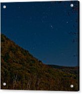 Orion Over Mt. Crawford Acrylic Print