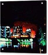 Orlando In Black Light Acrylic Print