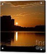 Orlando Sunrise Acrylic Print