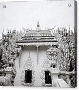 Ornate Architecture Acrylic Print