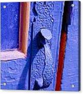 Ornate Blue Handle 2 Acrylic Print