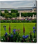 Orsay From The Tuileries Acrylic Print