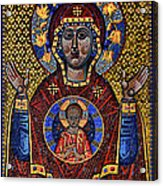 Orthodox Icon Of The Mosaic Acrylic Print