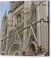 Orvieto Cathedral Acrylic Print
