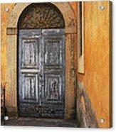 Orvieto Doorway Acrylic Print