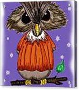 Oscar Owl Acrylic Print