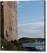 Oslo Castle And Harbor Acrylic Print