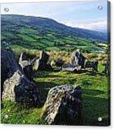 Ossians Grave, Co Antrim, Ireland Stone Acrylic Print