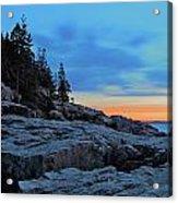 Otter Point At Dawn Acrylic Print