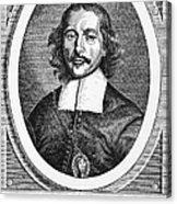 Otto Von Guericke (1602-1686) Acrylic Print