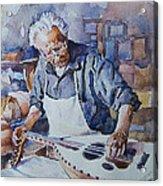 Oud Maker Acrylic Print