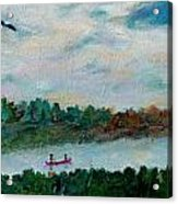 Our Amazing Lake Acrylic Print