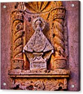 Our Lady Of Good Success At The Chapel In Tlaquepaque Acrylic Print