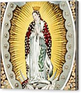 Our Lady Of Guadalupe, Originally Acrylic Print