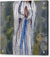 Our Lady Of Lourdes 2 Acrylic Print