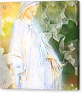 Our Lady Of Nature Acrylic Print