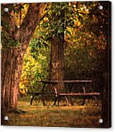 Our Special Place Acrylic Print