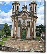 Ouro Preto Church Acrylic Print