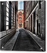 Out Of The Alley Acrylic Print