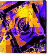 Out Of The Box Expression Acrylic Print by Fania Simon
