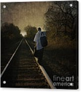 Out Of The Darkness Acrylic Print by Betty LaRue