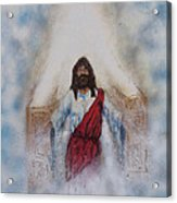Out Of The Midst Of The Throne Came The Lamb Acrylic Print