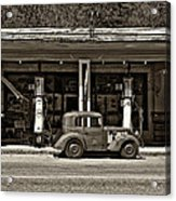 Out Of The Past Sepia Acrylic Print
