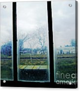Out The Back Window Of The Delta Blues Museum Clarksdale Ms Acrylic Print