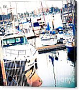 Out To Sea We Go Acrylic Print