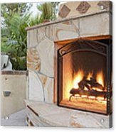 Outdoor Patio Living Space Residential Acrylic Print