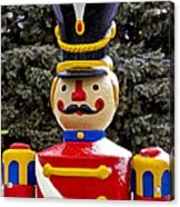 Outdoor Toy Soldier Acrylic Print
