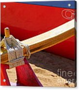 Outrigger Rigging - 2 Acrylic Print